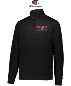 Champion Adult Quarter-Zip Pullover - Delsea Indoor Track