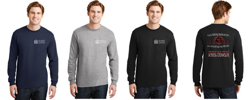 DryBlend 50 Cotton/50 Poly Long Sleeve - Adult - DSCA