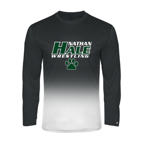 Ombre Performance Long Sleeve - Nathan Hale Wrestling