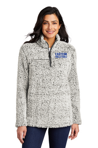 *Ladies Cozy 1/4-Zip Fleece - Bristol Eastern Volleyball