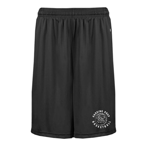 B-CORE POCKETED 10 INCH SHORT - Adult - Harding Prep Basketball