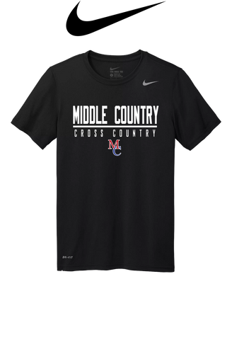 Nike Adult Legend Tee - Middle Country XC