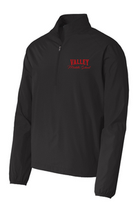 Windbreaker 1/2-Zip Pullover - Valley Middle School Staff
