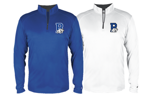 B-Core 1/4 Zip (Adult/Youth Sizes) - Bulldogs Wrestling