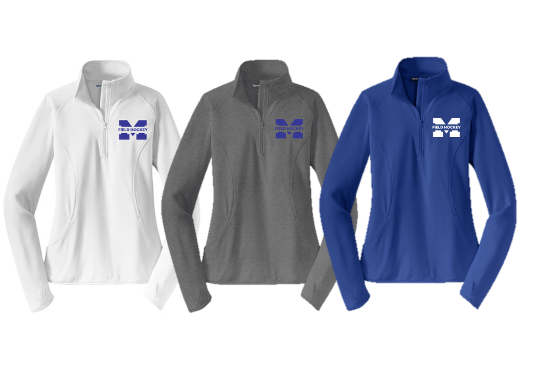 Stretch 1/2-Zip Pullover - Ladies - Metuchen Field Hockey