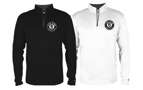 B-Core 1/4 Zip (Adult/Youth Sizes) - Five Star Wrestling
