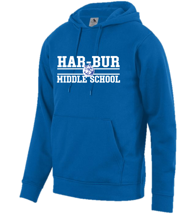 Hooded Sweatshirt - Youth - Har-Bur Middle School