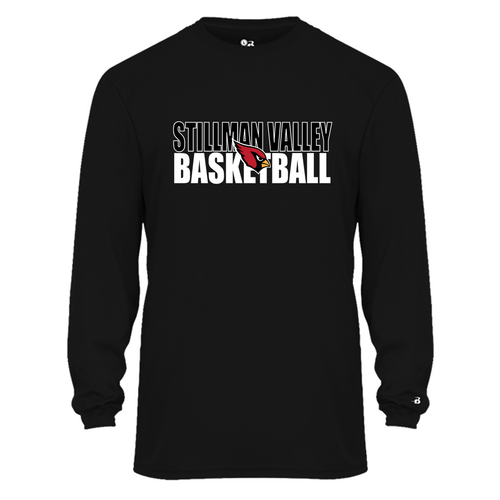 B-CORE MEN'S L/S TEE - Stillman Valley Basketball
