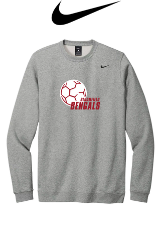 Nike Club Fleece Crew - Bloomfield Girls Soccer