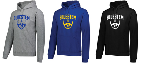 Hooded Sweatshirt - Bluestem Football