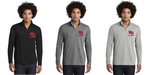 Tri-Blend Wicking 1/4-Zip - Adult - Mt. Olive Volleyball