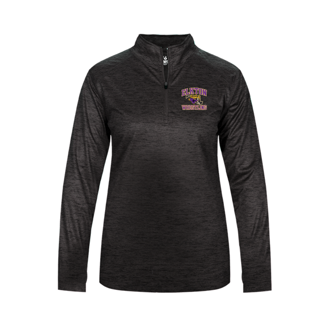 TONAL BLEND 1/4 ZIP (LIGHTWEIGHT) - LADIES - ELKTON WRESTLING