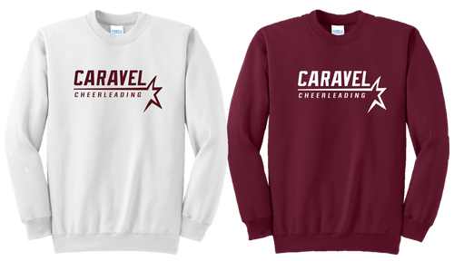 Crewneck Sweatshirt - Adult - Caravel Academy Cheer