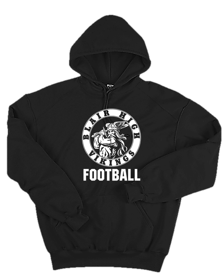 Hooded Sweatshirt - Adult - Blair Football