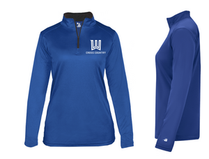 B-Core Lightweight 1/4 Zip - LADIES - Winnacunnet XC