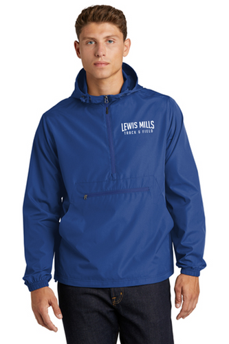 *Packable Anorak Windbreaker - Adult - Lewis Mills Track