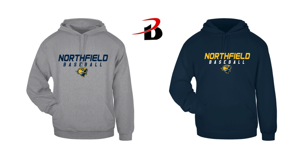 BADGER HOODED SWEATSHIRT - Northfield Baseball