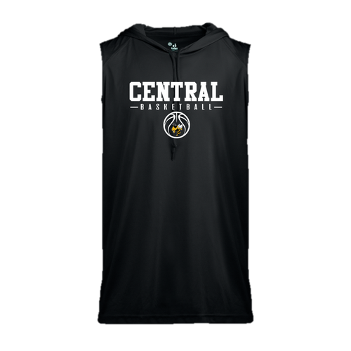 Sleeveless Hoodie - Central (Louisville) Basketball