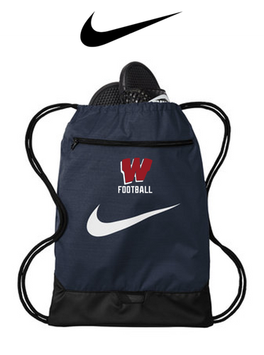 Nike Brasilia Gym Sack - Westborough Football