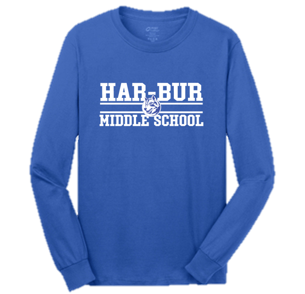 Adult Classic Long Sleeve -Har-Bur Middle School