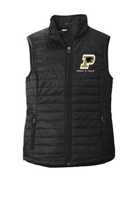 *LADIES Puffy Vest - Point Pleasant Boro Track & Field