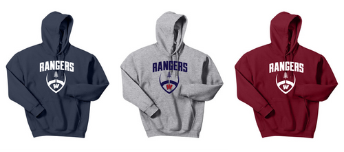 Hooded Sweatshirt - Westborough Football