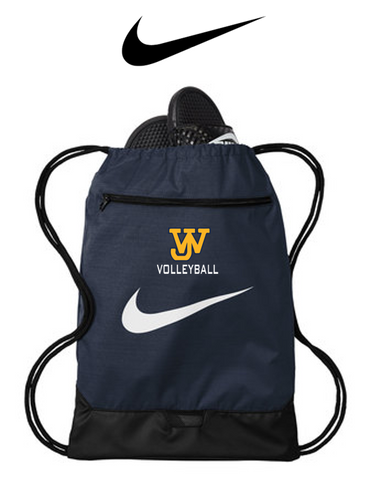 Nike Brasilia Gym Sack - JAMES WOOD VOLLEYBALL