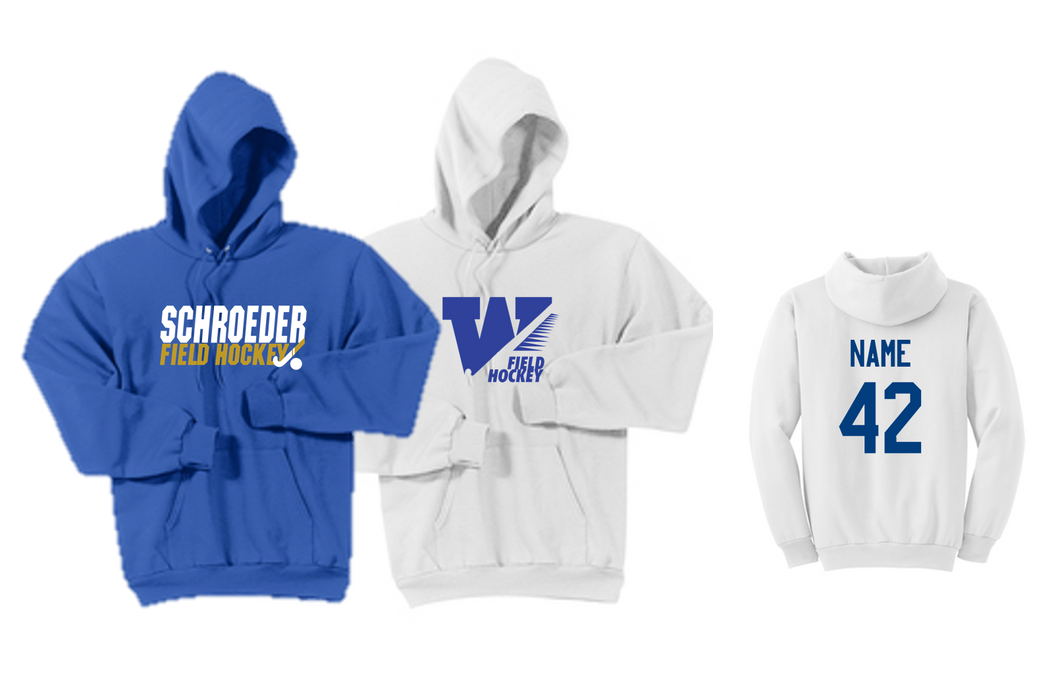 Hooded Sweatshirt - Adult - WS Field Hockey