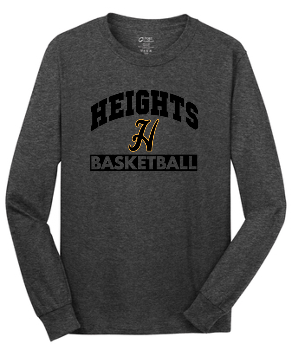 Fan Tee Long Sleeve - Adult - Cleveland Heights Basketball