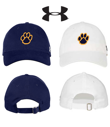 *UA Adjustable Chino Cap - Pequannock Track & Field