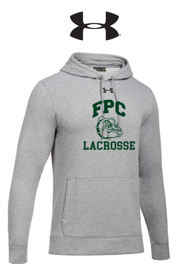 UA Hustle Fleece Hoody - Adult - Flagler Palm Coast Lacrosse