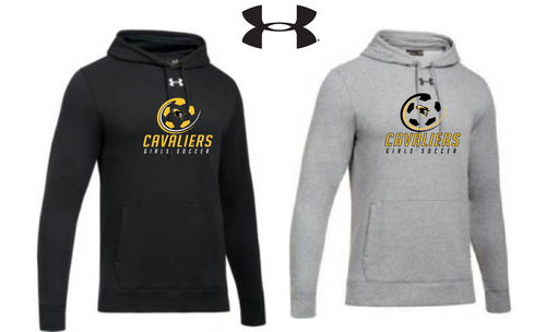 UA Hustle Fleece Hoody - South Carroll Girls Soccer