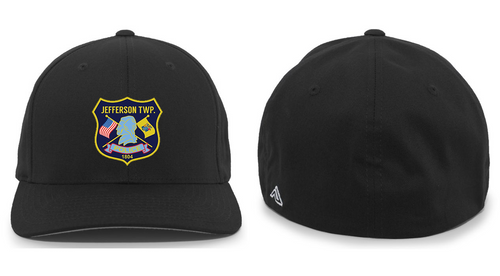 TWILL FLEXFIT CAP - JEFFERSON POLICE DEPT