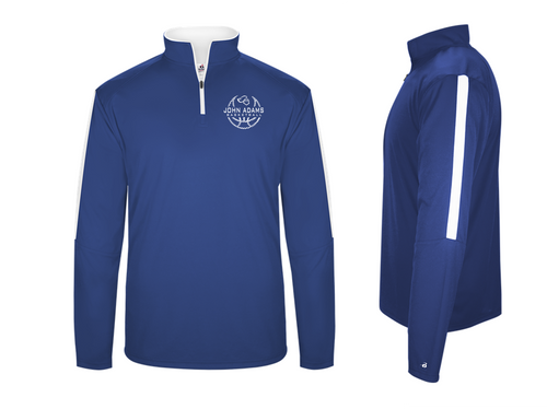 SIDELINE 1/4 ZIP (Lightweight) - Adult - John Adams MS Basketball