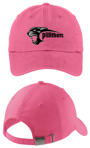 *Ladies Garment Washed Cap - Linwood Panthers Football