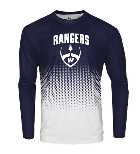 HEX LONG SLEEVE - Westborough Football