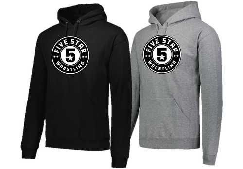 Hooded Sweatshirt (Adult/Youth Sizes) - Five Star Wrestling