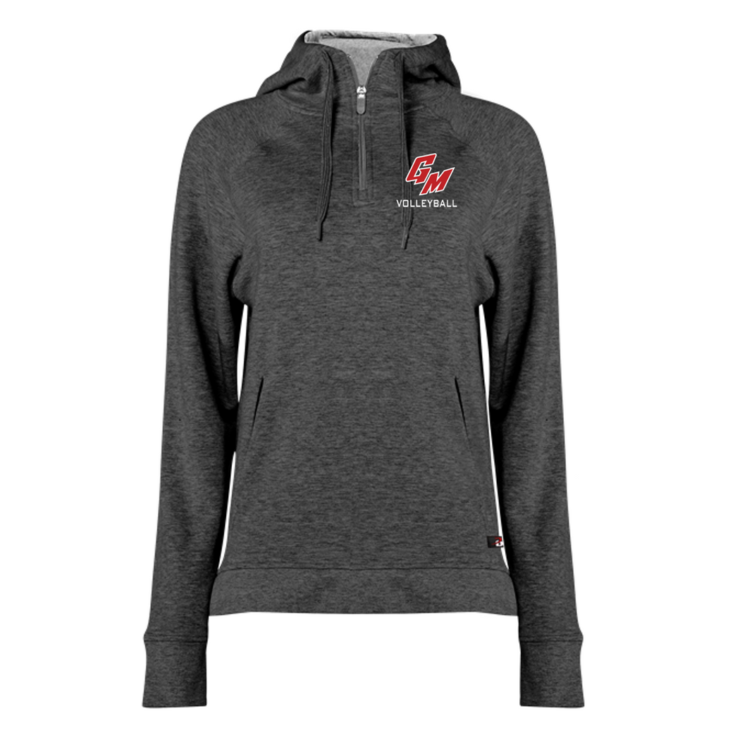 FIT FLEX WOMEN'S HOOD ZIP - GM Volleyball