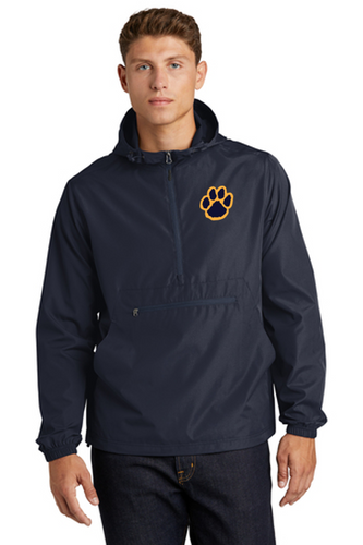 *Packable Anorak Windbreaker - Adult - Pequannock Track & Field