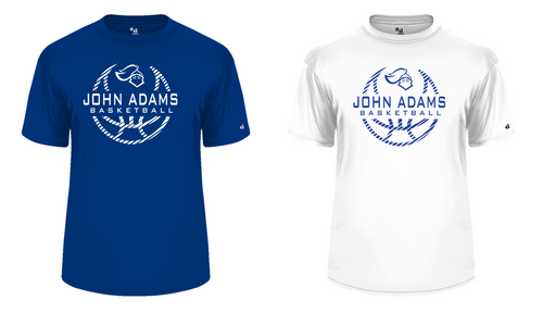 Performance Tee - Adult - John Adams MS Basketball