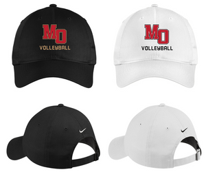 Nike Unstructured Twill Cap - Mt. Olive Volleyball