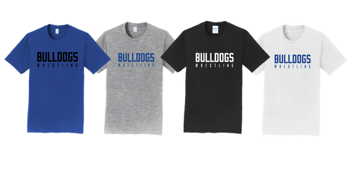 Fan Favorite Tee (Adult/Youth Sizes) - Bulldogs Wrestling