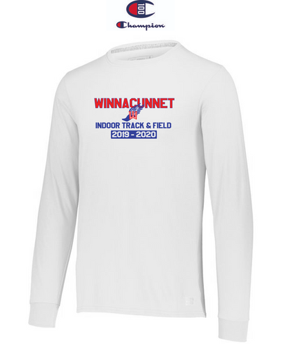 Champion Adult Long-Sleeve T-Shirt - Winnacunnet Indoor Track & Field