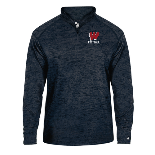 Lightweight Tonal Blend 1/4 Zip - Westborough Football