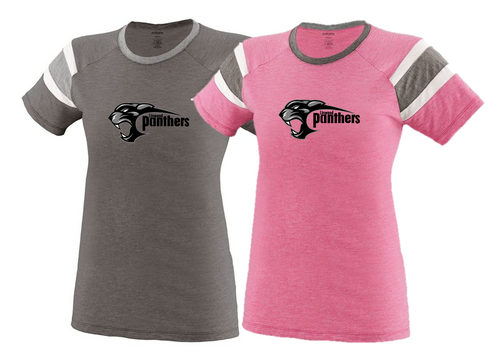 Ladies Fanatic Tee - Girls/Ladies - Linwood Panthers Football