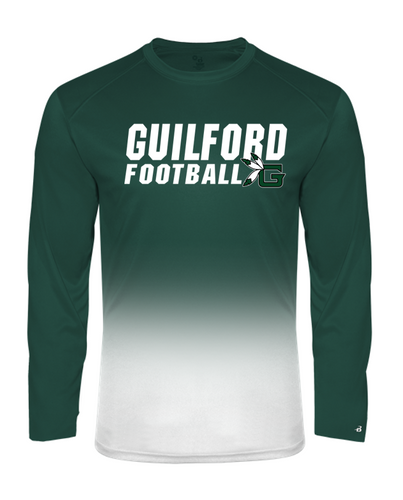 OMBRE LONGSLEEVE - Guilford Football