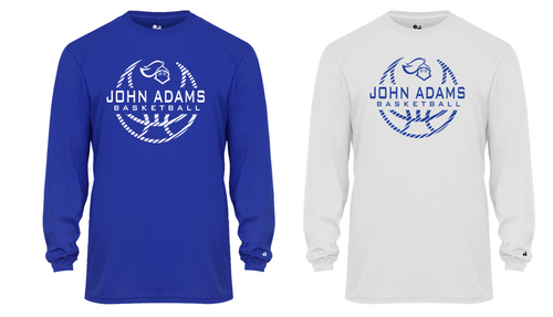 Performance Long Sleeve - Adult - John Adams MS Basketball