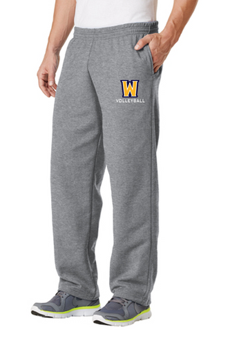 Sweatpant with Pockets - Adult- WISS VOLLEYBALL