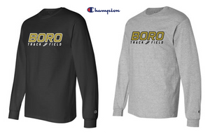 Champion -ADULT Long Sleeve - Point Pleasant Boro Track & Field