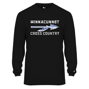B-CORE MEN'S L/S TEE - Winnacunnet XC